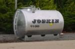 Watertanks op steunpoten